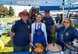 Lions Club volunteers for AYSO